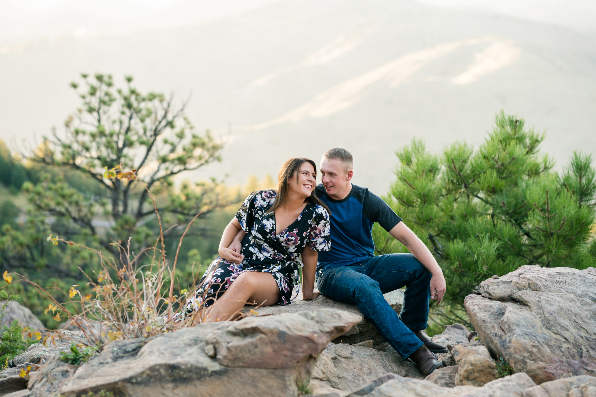 Lookout Mountain Engagement Session | Denver Wedding ...